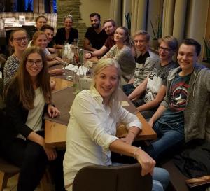 EGGER: Fachpraktikanten-Essen, November 2018