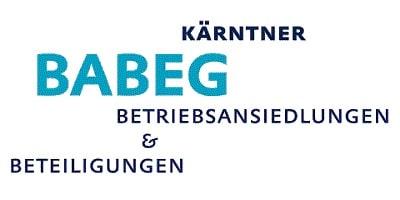 Logo BABEG - Kärntner Betriebsansiedlungen & Beteiligungen