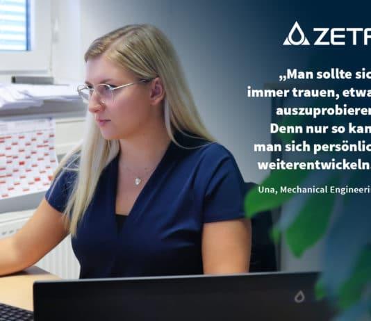 Bild: ZETA Berufseinstieg - Una, technische Zeichnerin